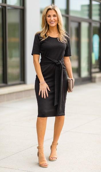 Attention Seeker Dress, Black