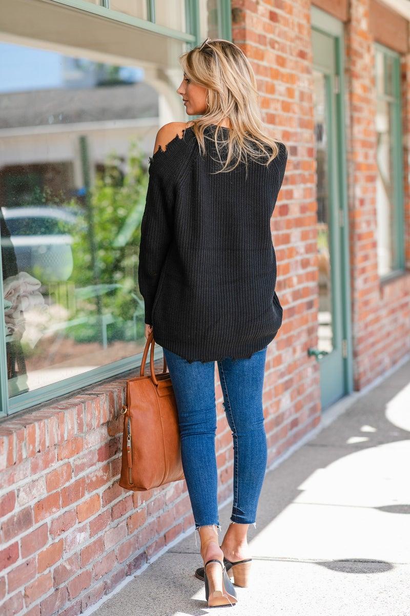 Cozy Dreams Sweater, Mocha, Ivory or Black