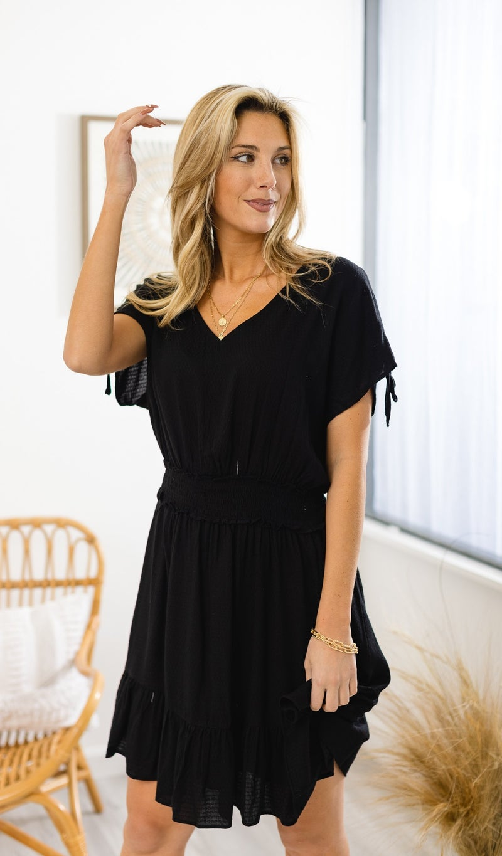 The Candace Dress, Black