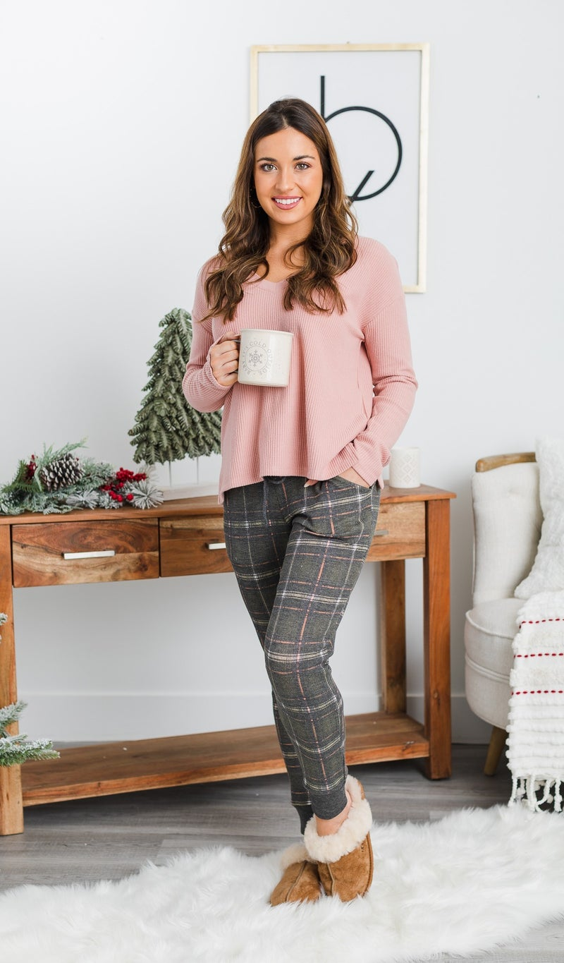 DOORBUSTER!!  Starry Nights Sweater, Rose or Taupe