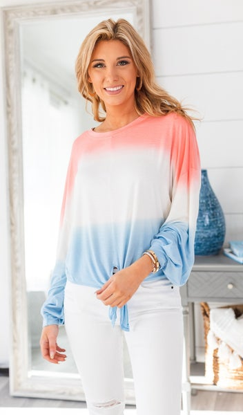 Sunsational Top, Coral