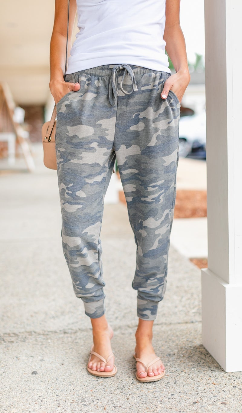Travel Light Jogger, Camo
