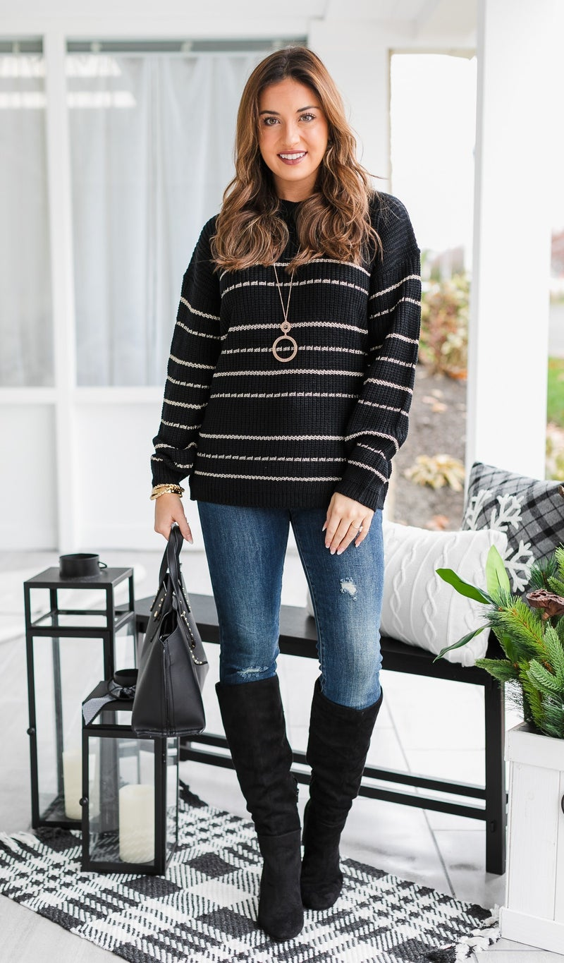 Your Staple Sweater, Black
