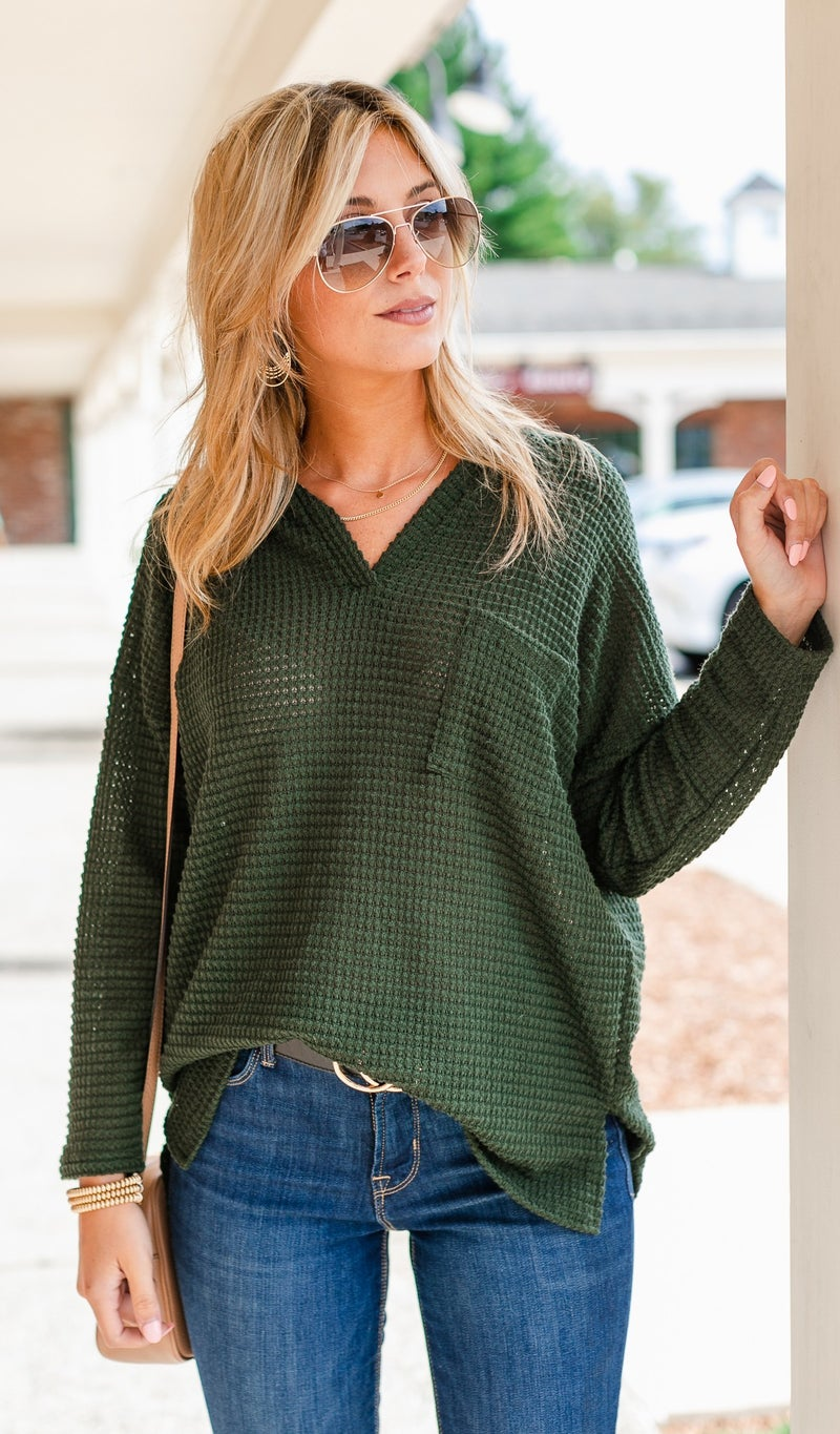 One To Love Top, Mocha, Black, or Olive