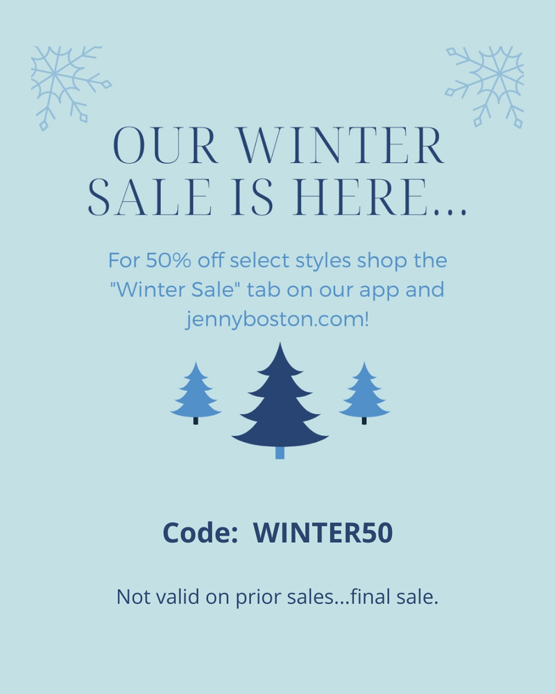 WINTER SALE - 50% OFF