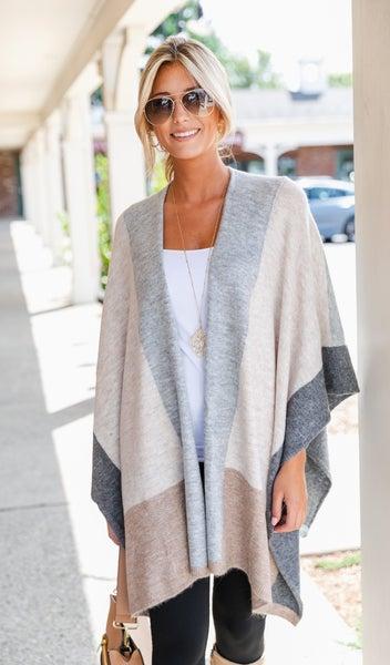 The Joelle Cardigan Kimono, Multi Color