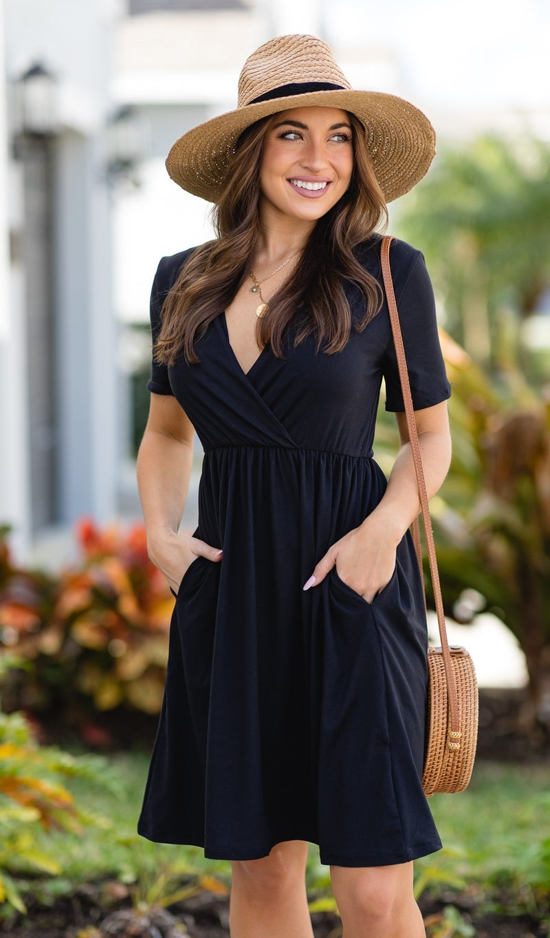 The Little Things Dress, Black