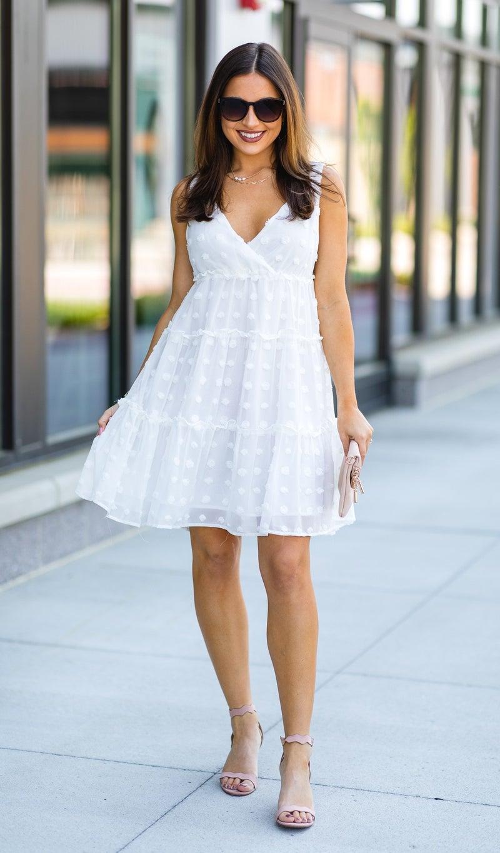 The Claudia Dress, Ivory