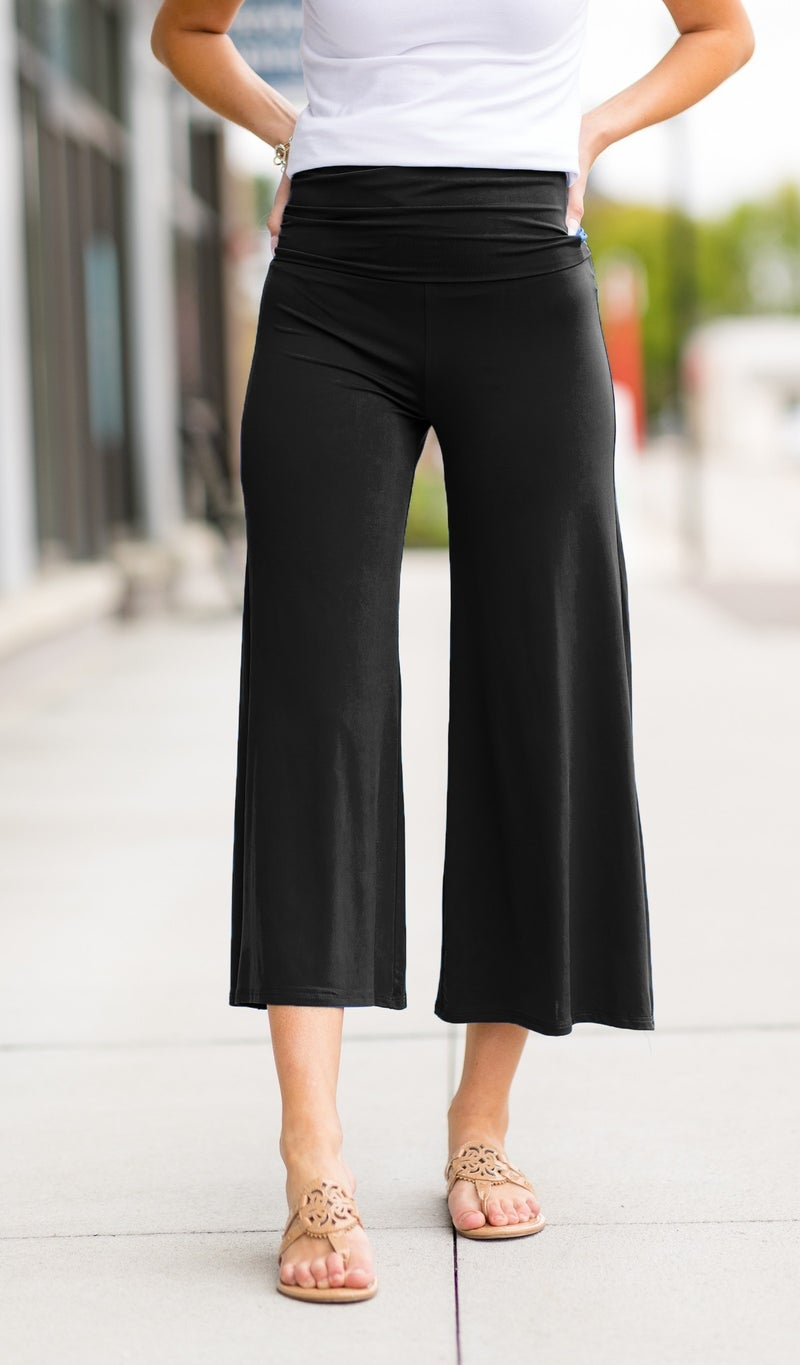 Vacation Pants in Black