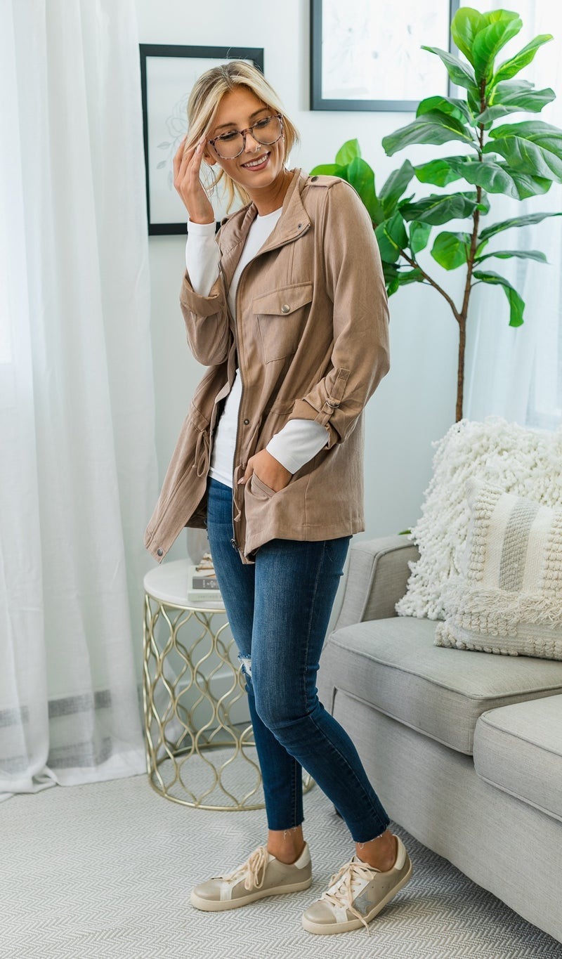 Let The Good Times Roll Jacket, Olive or Khaki