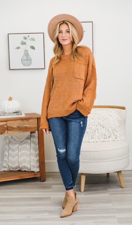 The Vanessa Sweater, Amber