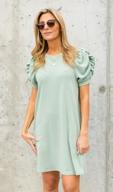 Summer Sun Dress, Sage
