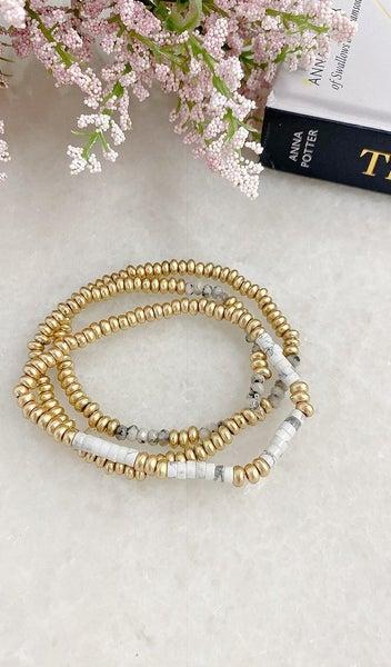 The Meghan Bracelet, White