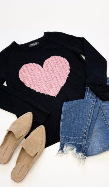 L.O.V.E Sweater, Black
