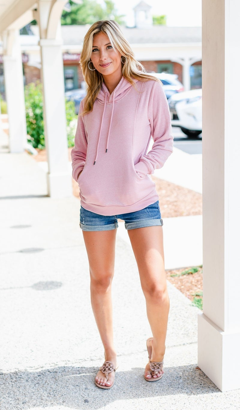 Daydream Hoodie, Pink or Charcoal