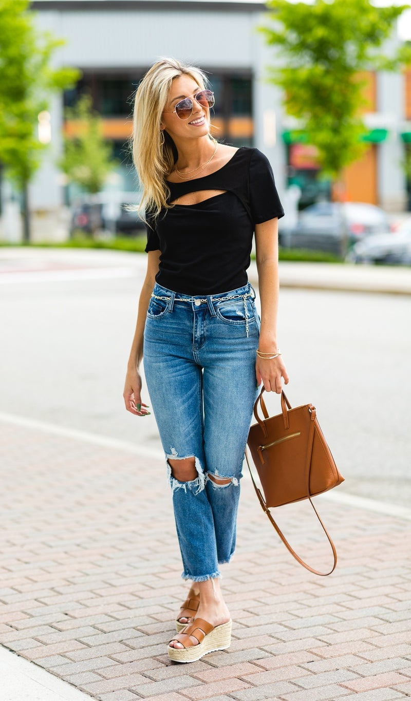 The Maggie Top, Black