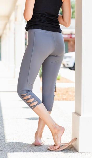 Active Days Leggings-Jade, Lavender, or Grey