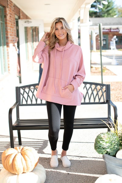 Here & Now Tunic, Mauve or Grey