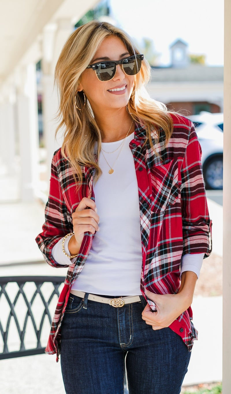 You're My Favorite, Red Plaid