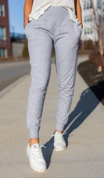 The Runway Jogger, Heather Grey
