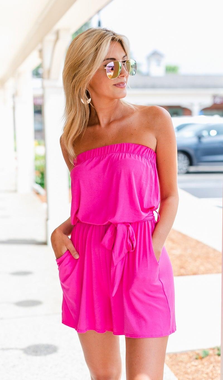 Be Something Romper, Pink