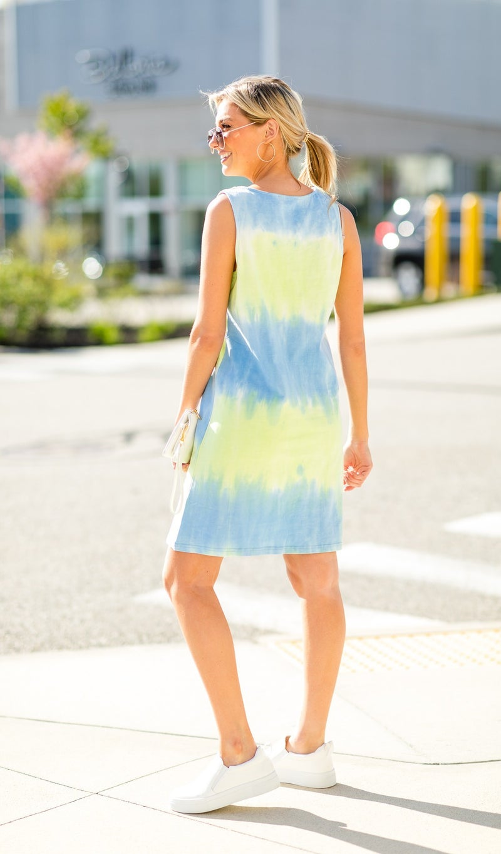 Key West Dress, Lime