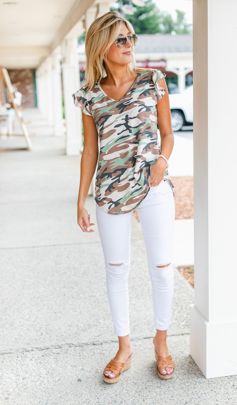A Girly Touch, Camo