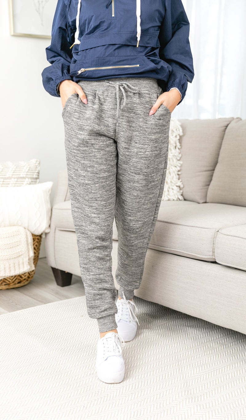 Easy Days Jogger, Heathered Grey