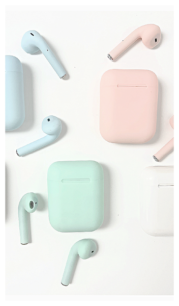 Bluetooth EarPods,  Pink, Blue, Green, White or Black, Navy or Gunmetal *Final Sale*