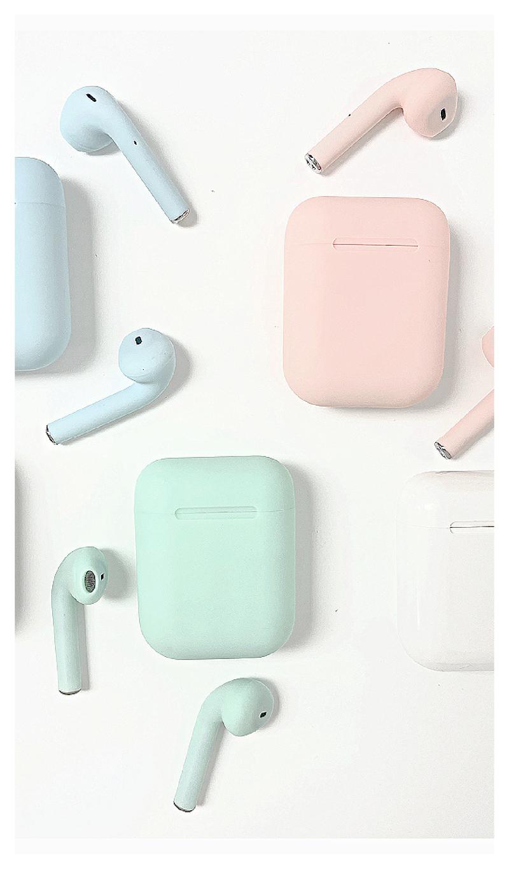Bluetooth EarPods,  Pink, Blue, Green, White or Black, Navy or Gunmetal *Final Sale*