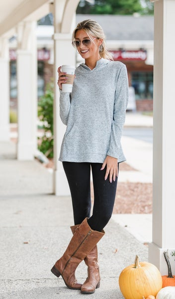 That Fall Feeling Top, Teal