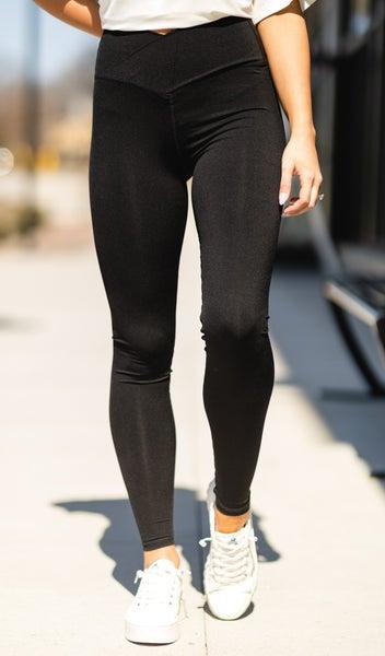 Stay On Trend Leggings, Black
