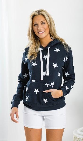 Starstruck Hoodie, Navy