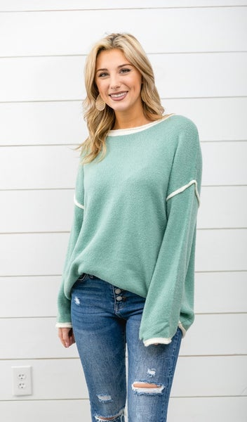 Let It Be Sweater, Sage
