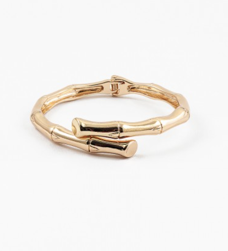 The Bamboo Bangle, Gold or Silver