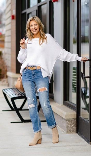 Winter Love Sweater, Ivory