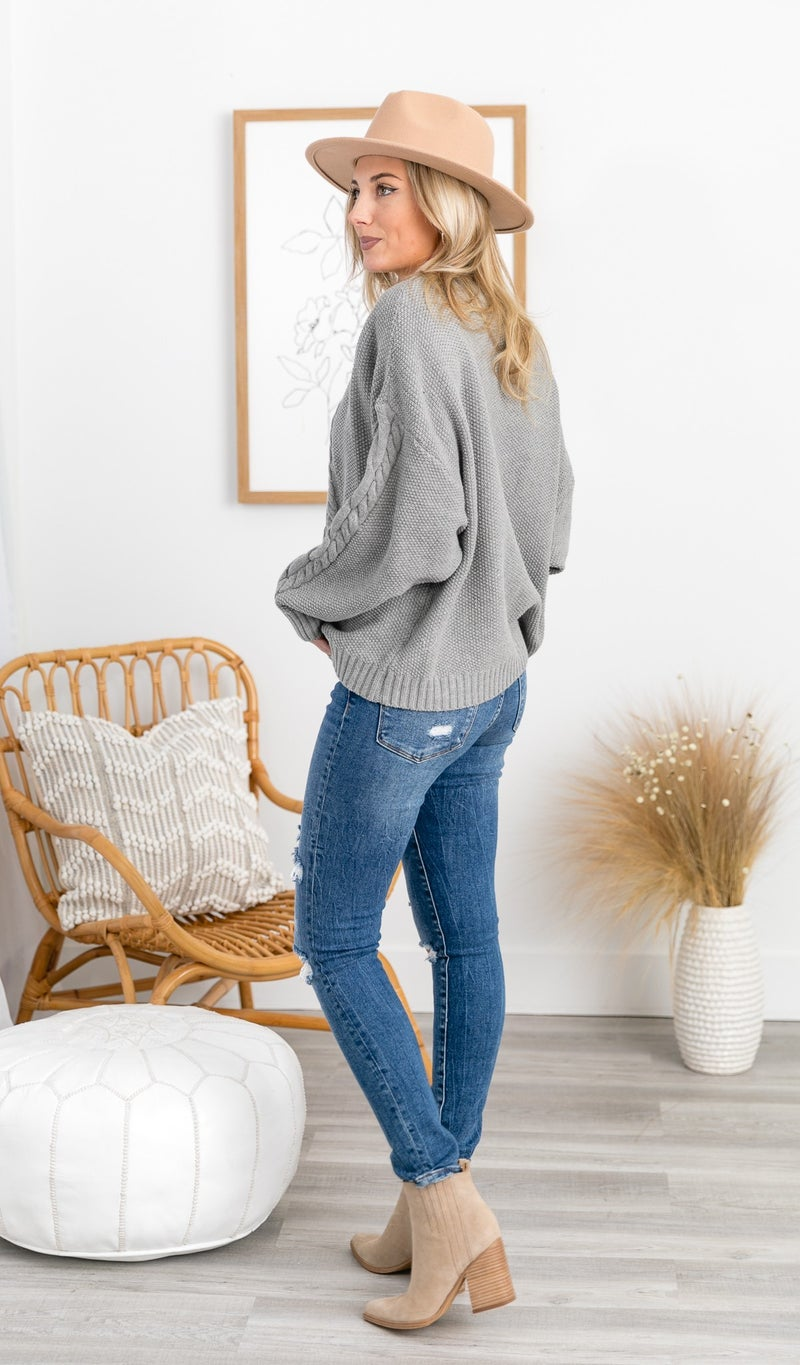 All In Sweater, Grey