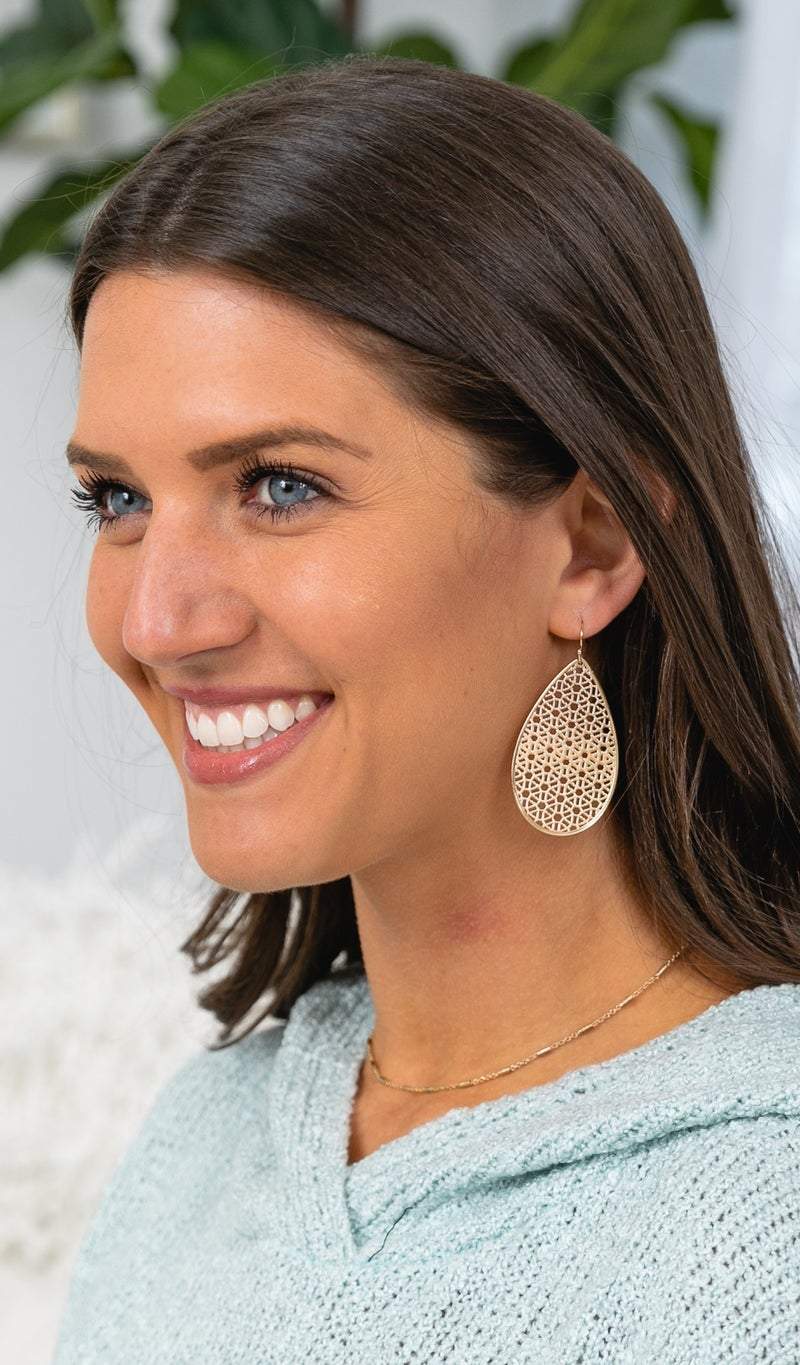 The Aimee Earring, Gold or Silver