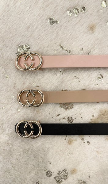Added Touch Belts, Blush,  Grey, Taupe & Black
