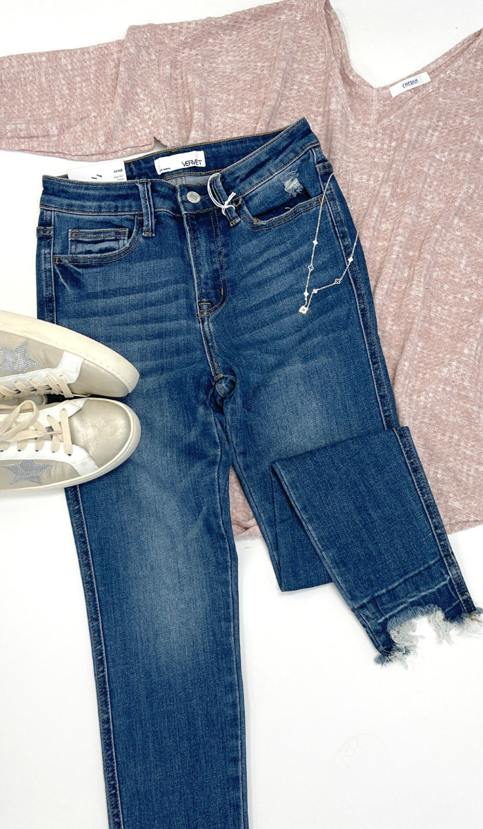 Haylie High-Rise Skinny Jean, Medium Wash