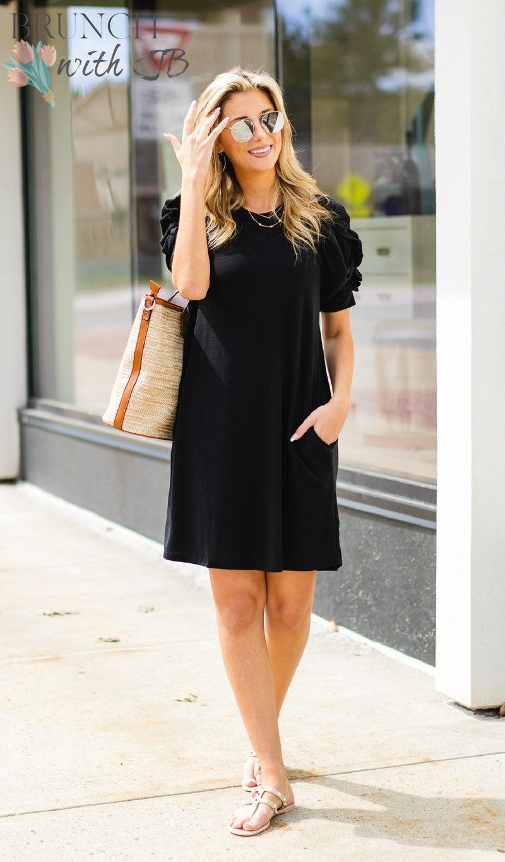 Summer Sun Dress, Black