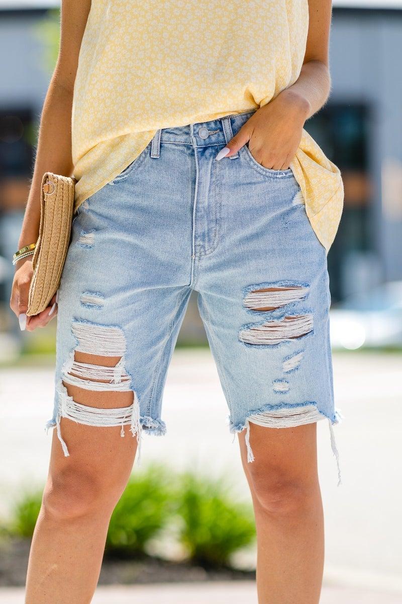 Divine Days Jean Bermuda Shorts
