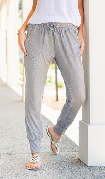 Take It Back Jogger, Heather Grey