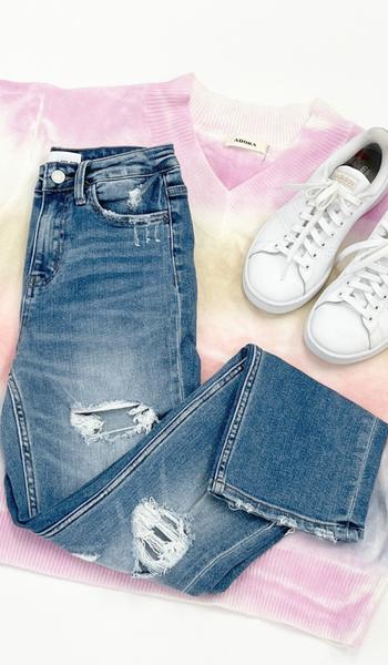 Original Straight Leg Jean, Light Wash