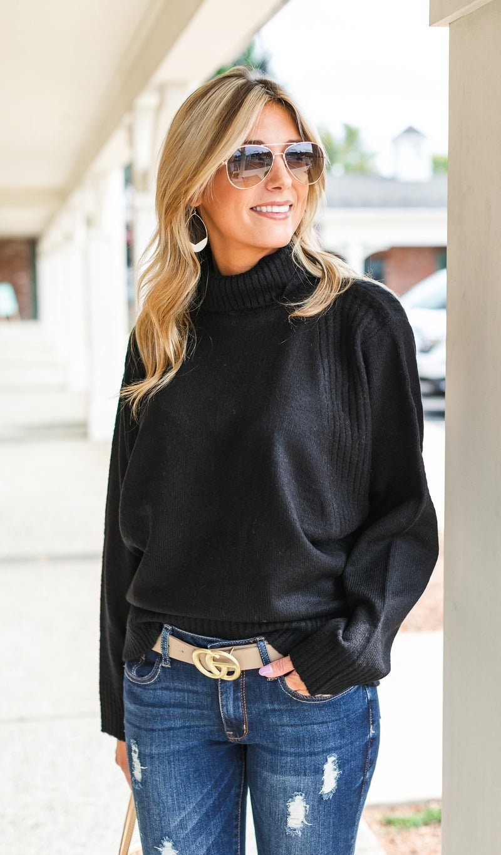 Cozy Dreams Sweater, Grey or Black