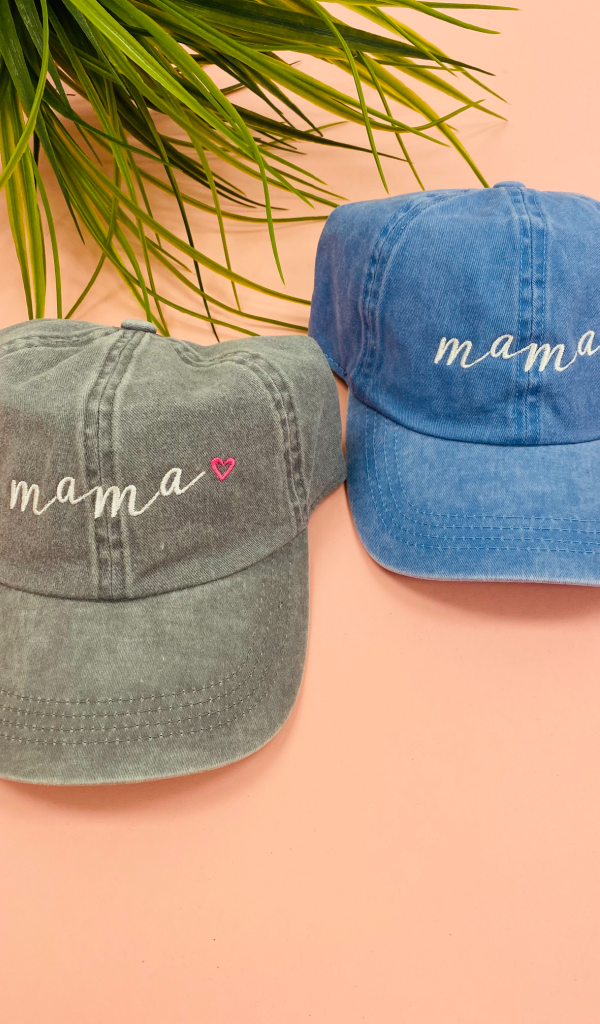 The Mama Hat, Blue or Grey