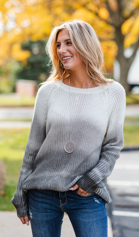 As Evening Falls Sweater, Tie Dye