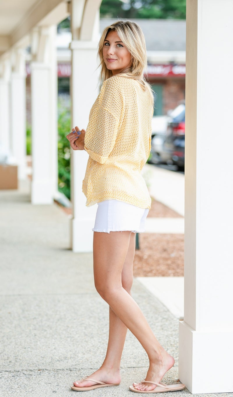 ****OLD POST. DONT USE****On Brand Shorts, White Denim