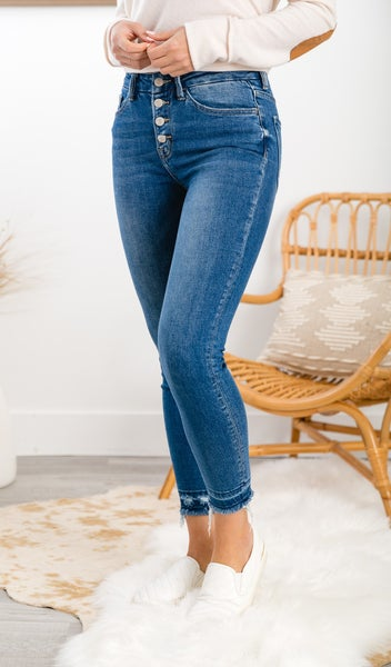 The Angie High Rise Skinny Jeans