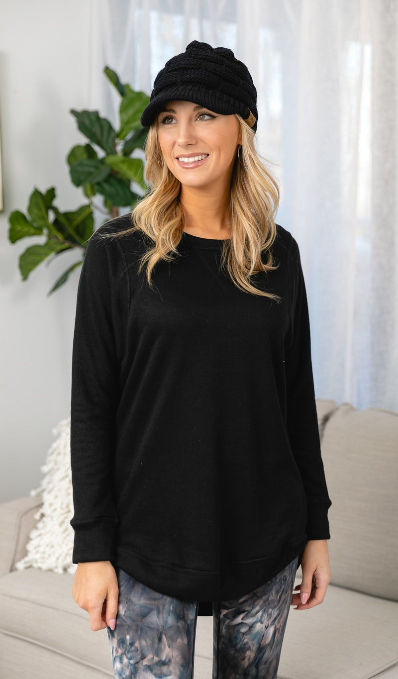 Sweetest Dreams Top, Black